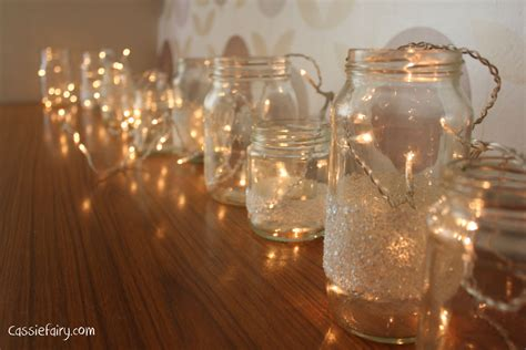 Fairy Lights Cassiefairy My Thrifty Life Lights In Jars