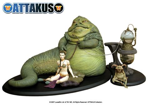 jabba der hutte jabba the hutt attakus collection