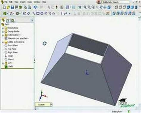 solidworks tutorial lessons solidworks tutorials by solidprofessor rip feature youtube