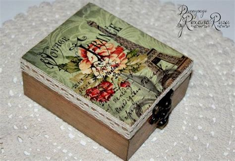 Wedding Box Decoupage by Best 25 Decoupage Box Ideas On Diy Decoupage