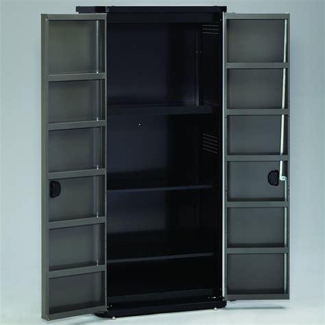 Craftsman Tall Floor Cabinet   Platinum