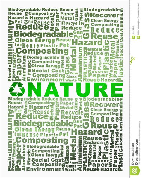 4 Letter Words Related To Forest recycle words related with nature word highlight stock