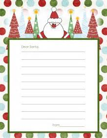 Free Santa Reply Letter Template Free Printable Christmas Card List Template 2015