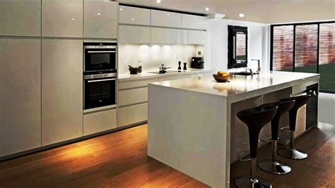 Glossy Cabinets by Glossy White Kitchen Cabinets Bar Glossy White Kitchen