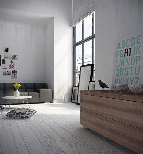 graues wohnzimmer moody melancholic interiors