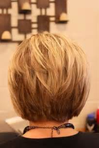 haircuts 50 back of short layered bob hairstyles front and back view