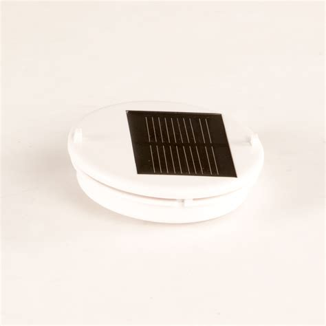 replacement solar light parts solar lantern top housing replacement white w white led