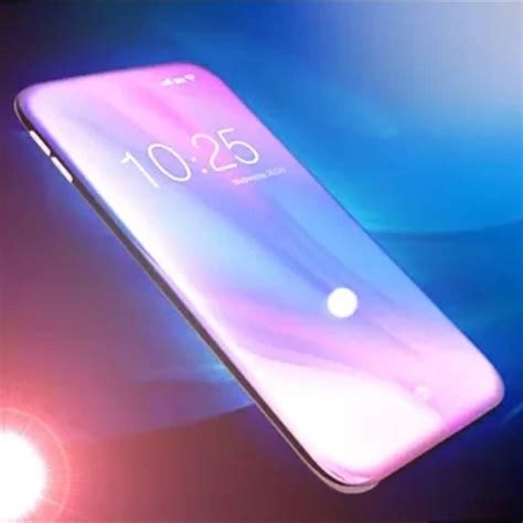 a smartphone with 100 bezeless in display fingerprint scanner all sensors underneath the