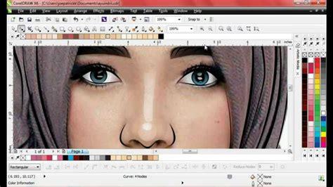 tutorial menggambar wajah tutorial vector coreldraw joepatrickk menggambar wajah