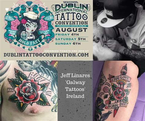 tattoo convention galway jeff linares dublin international tattoo convention