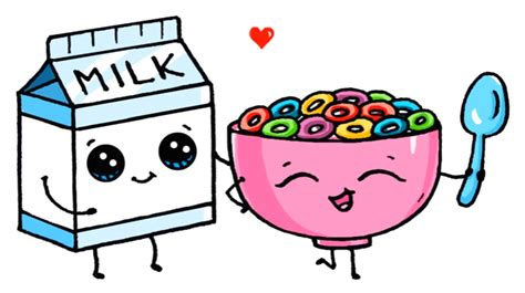 imagenes de yogurt kawaii milk and cereal dibujos kawaii pinterest encontrado