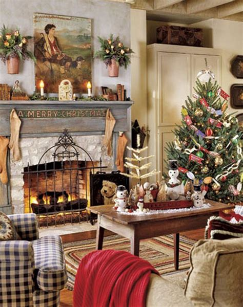 decorating a christmas tree to look old fashioned living room decorating ideas