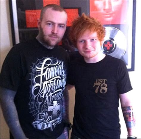 ed sheeran tattoo artist ed sheeran gets lizard tattoo for new album inspired sleeve