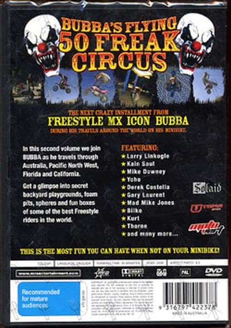 smoe circus freak series volume 2 books various artists bubba s flying 50 freak circus vol 2