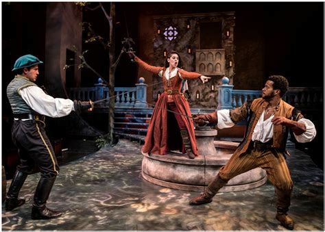 short shakespeare romeo and juliet theatre reviews ssromeo juliet swords around the town chicago with al bresloff