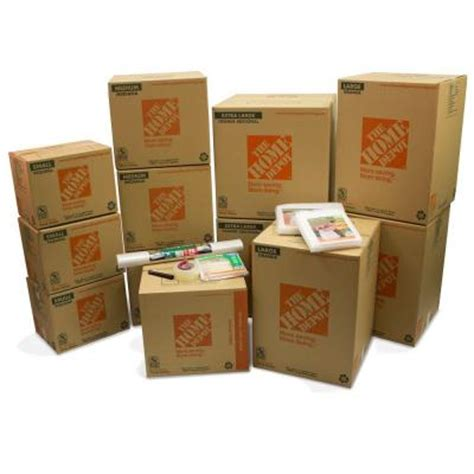 Home Depot Small Moving Box Size The Home Depot Bedroom Moving Kit Hdbr1 The Home Depot