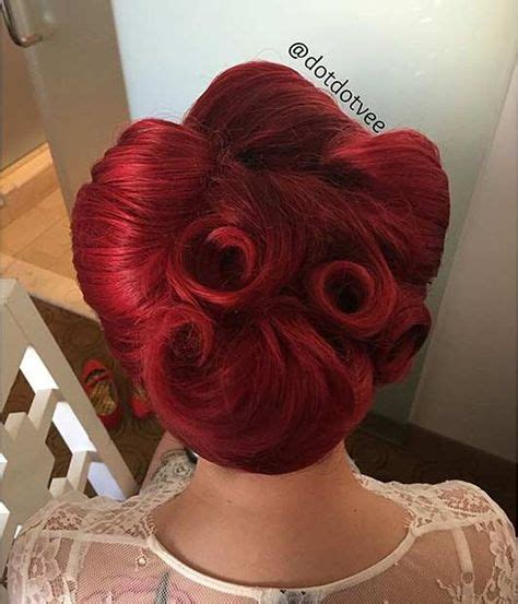 Pin Up Hairstyle Tutorial by 1000 Ideas About 1950s Updo On 1950s Makeup