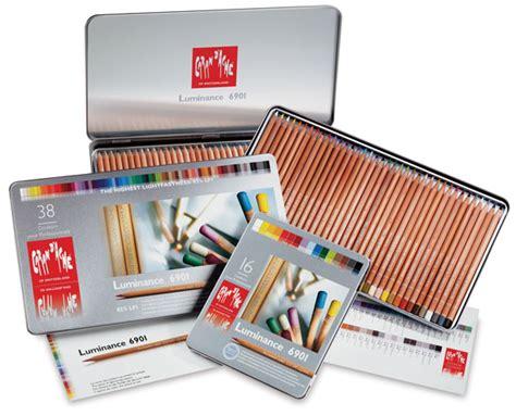 caran d ache luminance colored pencils caran d ache luminance colored pencils blick materials