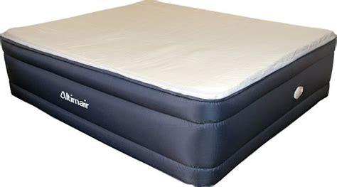 king raised fabric air bed  memory foam  built  pump aatkrmffvafs rollaway beds