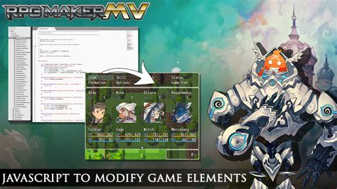 javascript tutorial rpg maker mv javascript to modify game elements image rpg maker mv