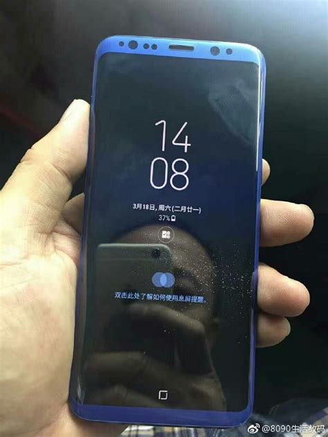 Samsung Galaxy S8 Second Global leaked galaxy s8 photos show range of new color options bgr