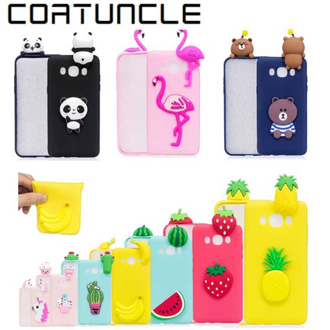 Squishy 3d 1 Silicon Tpu Soft Cover Samsung Berkualitas 1 coatuncle soft tpu phone sfor samsung galaxy j7 2016 3d silicon dolls toys cover