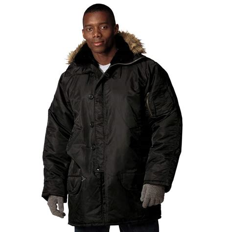 Outer Parka Army n 3b style winter jacket