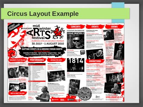 Circus Layout Newspaper | types of layouts by admec multimedia institute