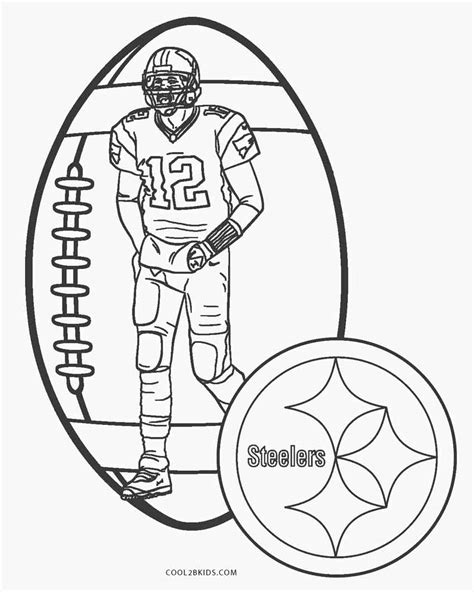 coloring pages free printable football coloring pages for cool2bkids