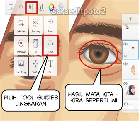 tutorial sketchbook di hp tutorial edit foto vector vexel di aplikasi sketchbook android