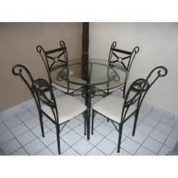 table ronde et chaises en fer forg 233 prix pas cher table