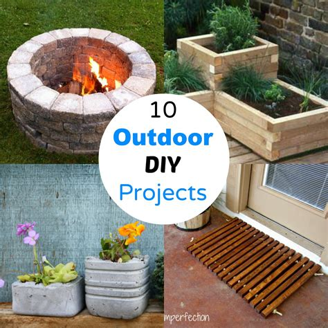 diy projects for decorating cents 10 outdoor diy projects