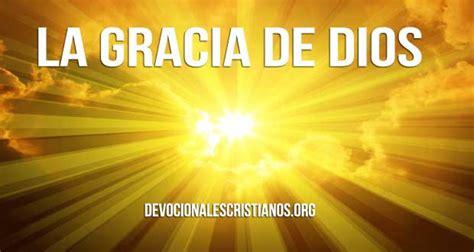 La Gracia De Dios cuando no percibes la gracia de dios devocionales cristianos
