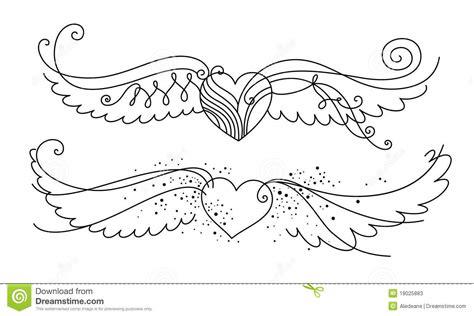 imagenes de corazones en blanco y negro pics for gt corazones con alas blanco y negro