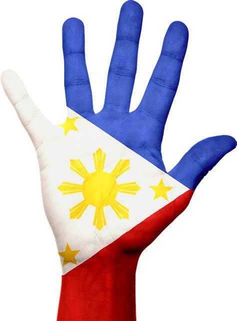 Free illustration: Philippines, Flag, Hand, Symbol   Free
