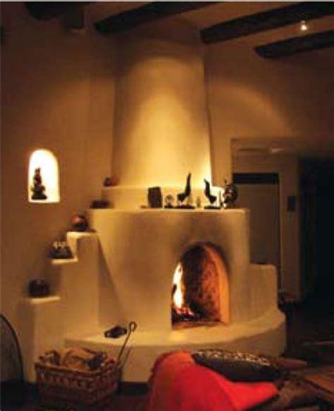 Kiva Style Fireplace by Kiva Fireplace Plans Feature On Fireplaces The Kiva