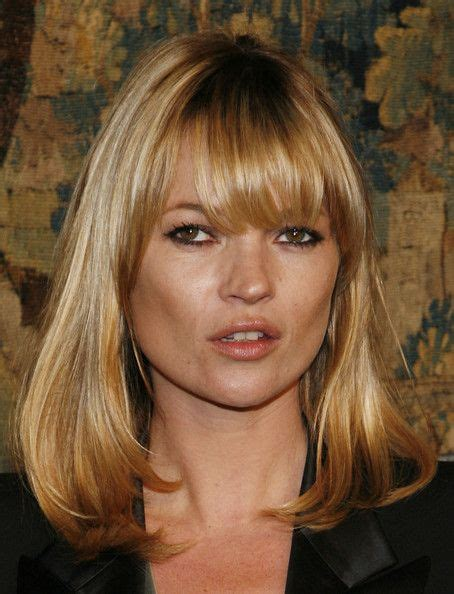 Kate Moss Cuts Bangs Em Or Em by 26 Best Images About Hair Medium Length On