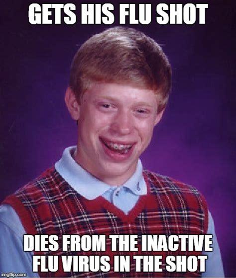 Meme Shot - bad luck brian meme imgflip