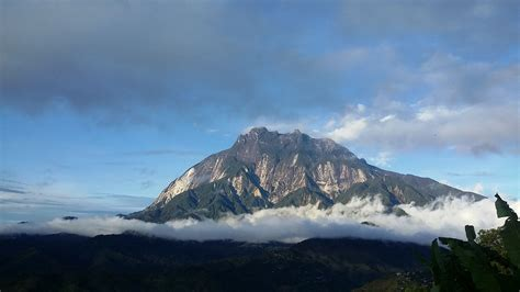 photo mount kinabalu mountain sabah  image