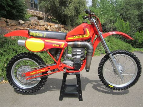 vintage motocross bikes for sale usa restored maico 490 alpha 1 1982 photographs at