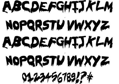 font design horror 14 scary fonts and lettering designs images halloween