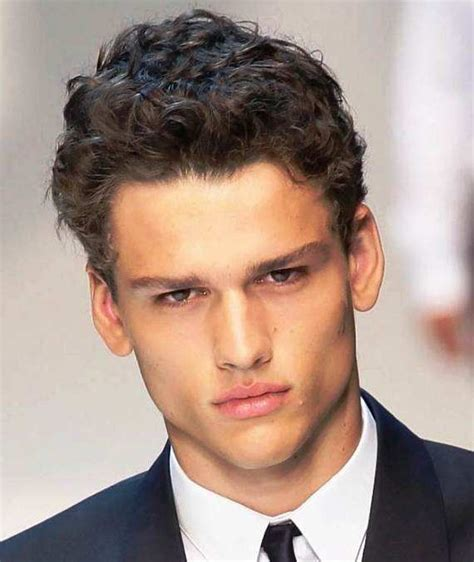 mens cuts wavy hair make face look thinner 17 best images about men s coarse hair haircut on