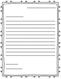 friendly letter writing paper best photos of 2nd grade friendly letter template