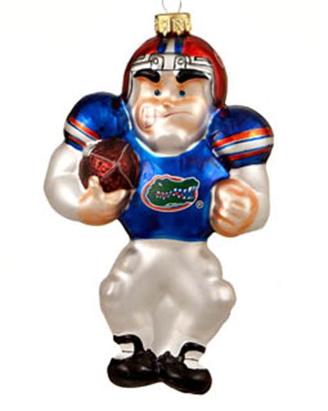 florida football player christmas ornament college football