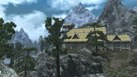 hearthfire houses my first hearthfire house and even though there s little customisation i m proud and