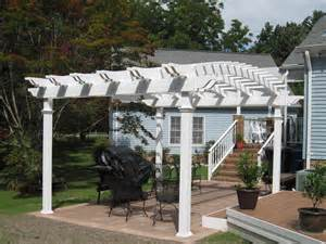 Vinyl Pergola by Aspen Arched Vinyl Pergola Kit Virginia