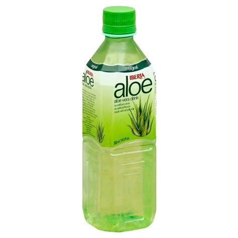 Would You Drink This Aloe Juice by Iberia Aloe Drink 16 9 Oz Target