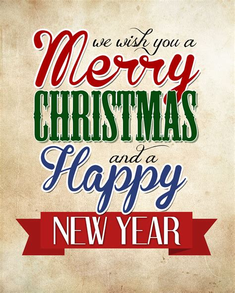 merry christmas happy  year  printable merry christmas images  christmas