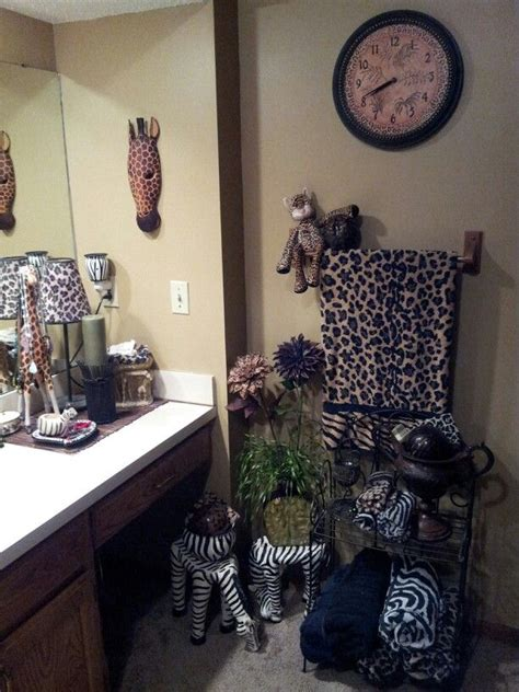 safari themed bathroom decor safari bathroom love my safari pinterest