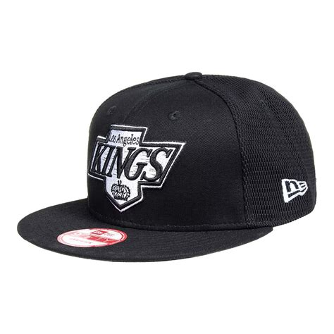 new era la new era la mesh 9fifty black snapback hat nfl merch